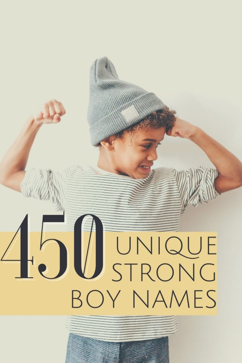 Cover image for unique strong boy names