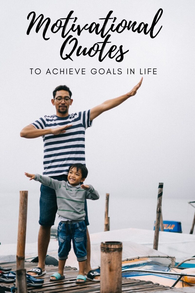 cover image for quotes to achieve goals in life